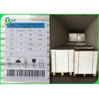 China FSC Certified UWF Uncoated Woodfree paper 80 100 120gsm OBA free in Sheets for sale