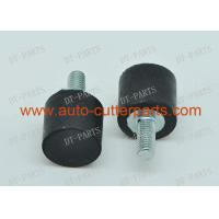 China Black Mushroom Like Metal Lectra Spare Parts Cylindrical Bumper M D16x15 M Vector 5000 for sale