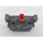 China Eletronical GT5250 Cutter Spare Parts Black Square Switch Nc Contact Block 925500594 To Gerber Auto Cutter Machine for sale