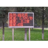 China Fix Installation Red Single Color LED Display Auto Testing Asynchronous Card for sale