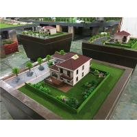 China 80x80cm Diorama Architect Model For Single Villa , Market Scale 3d Model For Real Estate for sale