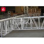 OEM Indoor Or Outdoor Aluminum Square Truss / Moving Head Truss for sale