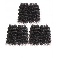 Virgin 100% Malaysian Human Hair Bundles Extensions Deep Curly CE BV SGS for sale