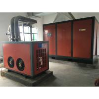 200KW Belt Driven Screw Air Compressor Lubricated Stationary Mold Oil injection for sale