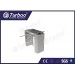 Heavy Duty Bidirectional Tripod Turnstile Gate Double Machine Core Stainless Steel for sale