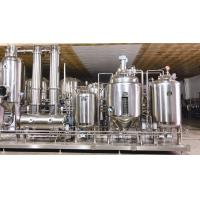 China Low Temp Herb Extraction Equipment And Concentration Production Unit High Efficiency for sale