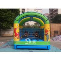 China 5x4 mts outdoor Let's party kids inflatable bouncy castle made with 610g/m2 pvc tarpaulin supplier