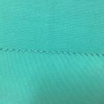 Bleaching 3/1 Twill Cotton Dyed Fabric Chlorine Resistant Green Color for sale