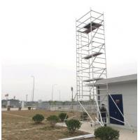 China Aluminum Mobile Scaffolding Tower for Construction and  Decoration-Made in China supplier