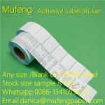 China Waterproof Adhesive Sticker Roll Heat Sensitive 60mm*44mm Size Eco - Friendly for sale