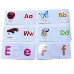 26pcs Alphabet Print Jigsaw Puzzle , Match And Learn Puzzle kids puzzle children's puzzle puzzle games for sale