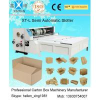 China 3kw CE Joggling Chrome Chain Feeding Automatic XT-L Series Carton Slotting Machinery for sale