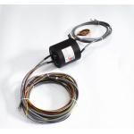 Amusement Ethernet Slip Ring 0~100rpm With 100M 1000M Ethernet Transmission for sale