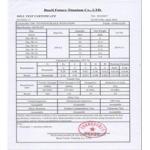Baoji Future Titanium Co., Ltd. Certifications