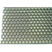 China Punching Mining 0.2MM Perforated Stainless Steel Sheet Metal for sale
