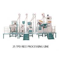 China Small Complete Set Rice Mill with a capacity of 25 tons per day for sale