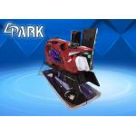 China Red Motorbike 9D VR Simulator Virtual Reality Driving Car Racing Game Machine for sale