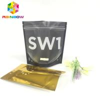 Mylar Plastic Foil Pouch Packaging Noni Aluminum Foil Bags Gravure Printing With Zipper for sale