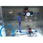 China Hot Melt Glue Square Bottle Sticker Labeling Machine Rotary Type 2 Year Guarantee for sale