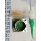 China Nickle plating crimp male pin  D38999III 20FC35PPN Square receptacle for sale