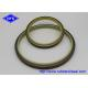 Polyurethane / NBR Dust Wiper Seal DKB DKBI LBH LBI DSI 70-95 Shores A Pressure for sale