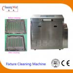 Rotate Spray Clean and Rinse Wave Solder pallet washing machine PLC Procedure Control for sale