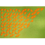 INTERTEC18mm Polyester Fiber Sound Absorbing Desk Dividers Acoustic Board for sale