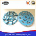 China 6 - 10 Metal Bond Concrete Grinding Wheel for Granite , Diamond Turbo Cup Wheel for sale