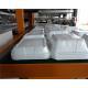 Styrofoam Automatic Vacuum Forming Cutting Stacking Integrated Machine For Food Container for sale