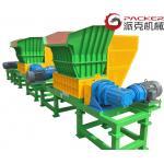 Low Speed Heavy Duty Shredder , Industrial Plastic Shredder 880 X 861 X 510mm for sale