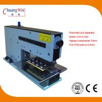 110V 220V 10W Pneumatic V-Cutting Machine 620 * 230 * 400mm for sale