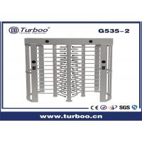 Outdoor Full Height Access Control single lane and dual lane Turnstile Gate With A Direction Indicator for sale