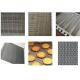 Non Pollution Eye Link Chain Conveyor Belt Wire Mesh 8mm For Snack Foods for sale