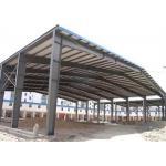Sugar Factory Steel Structure Workshop Hot Dip Galvanized Frame Construction for sale
