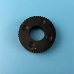 China Black Rubber Gear Wincor Nixdorf ATM Parts 1750064501 Round Shape Long Service Life for sale