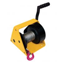 China Hand Windlass Worm Drive Winch , GR300 300kg Small Winch Worm Drive For Puller for sale