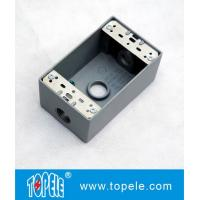 UL Standard Weatherproof Electrical Boxes---- One Gang 3 Holes  Outlet Boxes for sale