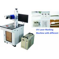 Uv Laser Marker 7W For Mobile Phone Parts , Mobile and computer accessories Engraving Machine No Heat Effect for sale