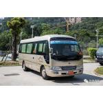 China 10-18 Seats Tourist Isuzu Coaster Mini Bus Luggage City Transportation for sale