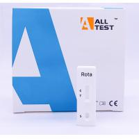 China Rotavirus Convenient Infectious Disease Testing Cassette One Step Rapid Test for sale