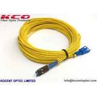 Single Mode Fiber Optic Pigtail Cables , G657B3 Simplex Patch Cord Pigtail MU UPC for sale