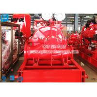 China UL Listed FM Approved Horizontal Centrifugal Single Stage Double Suction Fire Pump for sale