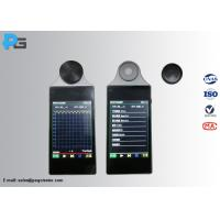 China 3.5 Inch LCD Touch Screen Led Testing Equipment Wireless Flicker Illuminometer for sale