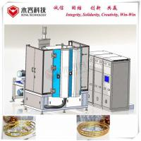 Wear Resistance PVD Gold Plating Machine For Gold Edge Plated Hammered Plates for sale