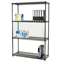 Adjustable Open Commercial Wire Shelving Unit Environment 4 Layers for sale