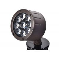 China Outside Led Spotlights 12 Watt Color Temperatures 3000K Powder Coated Bronze for sale