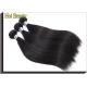 100% Straight Remy Human Hair Bundles / Natural Cuticle Aligned Hair for sale
