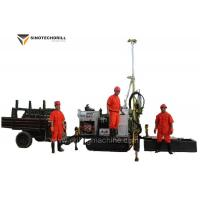EP200C Crawler Type Self Propelled Mining Drill Rig 200m Depth Hydraulic System for sale