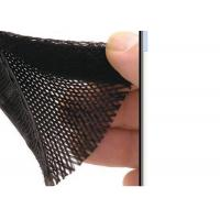 China Flame Resistant Electrical Braided Sleeving Pet Material For Cable Management for sale