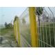 3d Curved Highway Fence , Heat Treated Galvanized Wire Mesh Fence Eco Friendly for sale